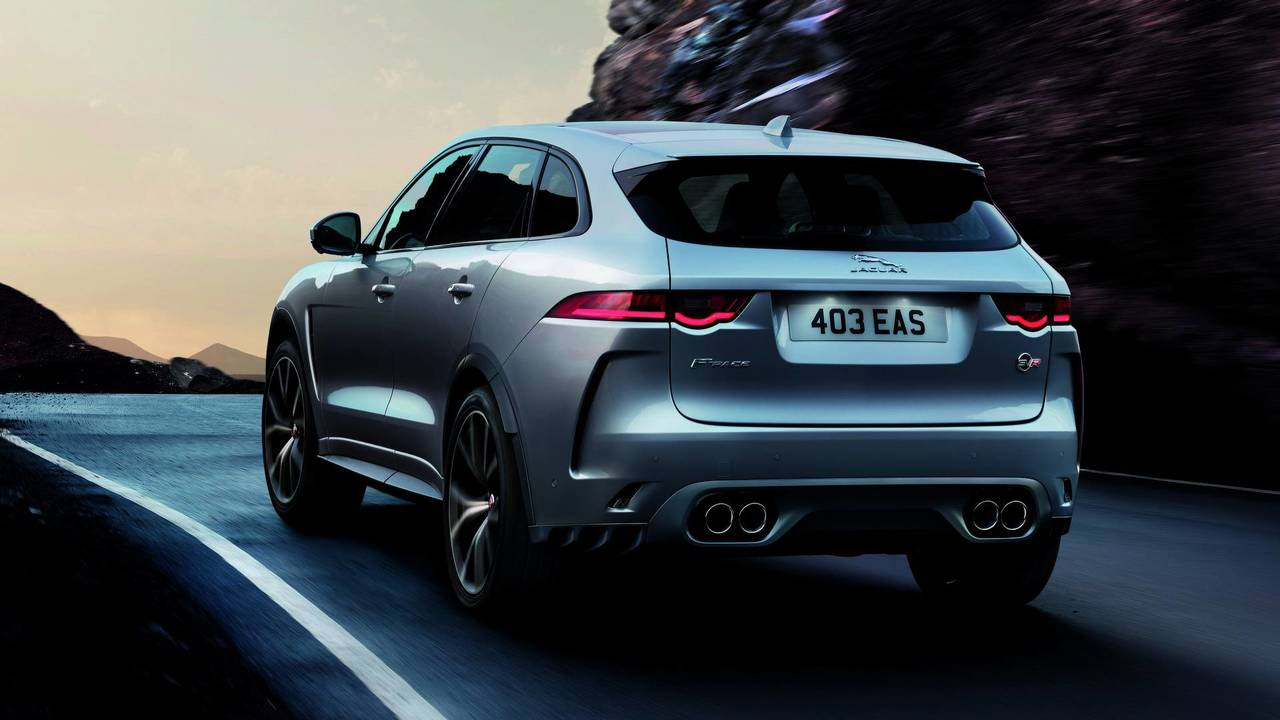 First Drive 2020 Jaguar F Pace Svr Driving Ca Youtube