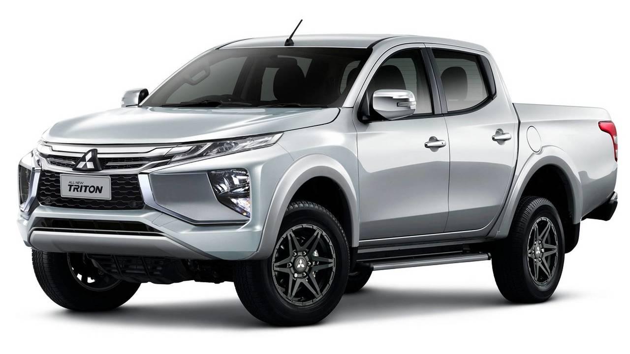Mitsubishi L200 Triton Sport 2019 - Flagra e Projeção