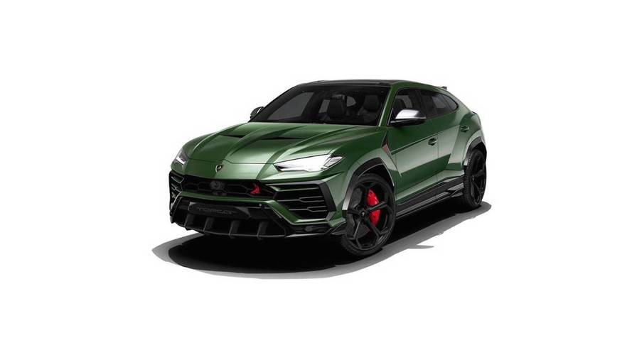One Tuner Found A Way To Make The Lamborghini Urus More Aggressive