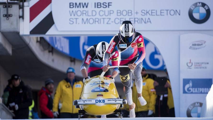 A BMW Motorrad által fejlesztett sisakban indul a német bobcsapat a téli olimpián