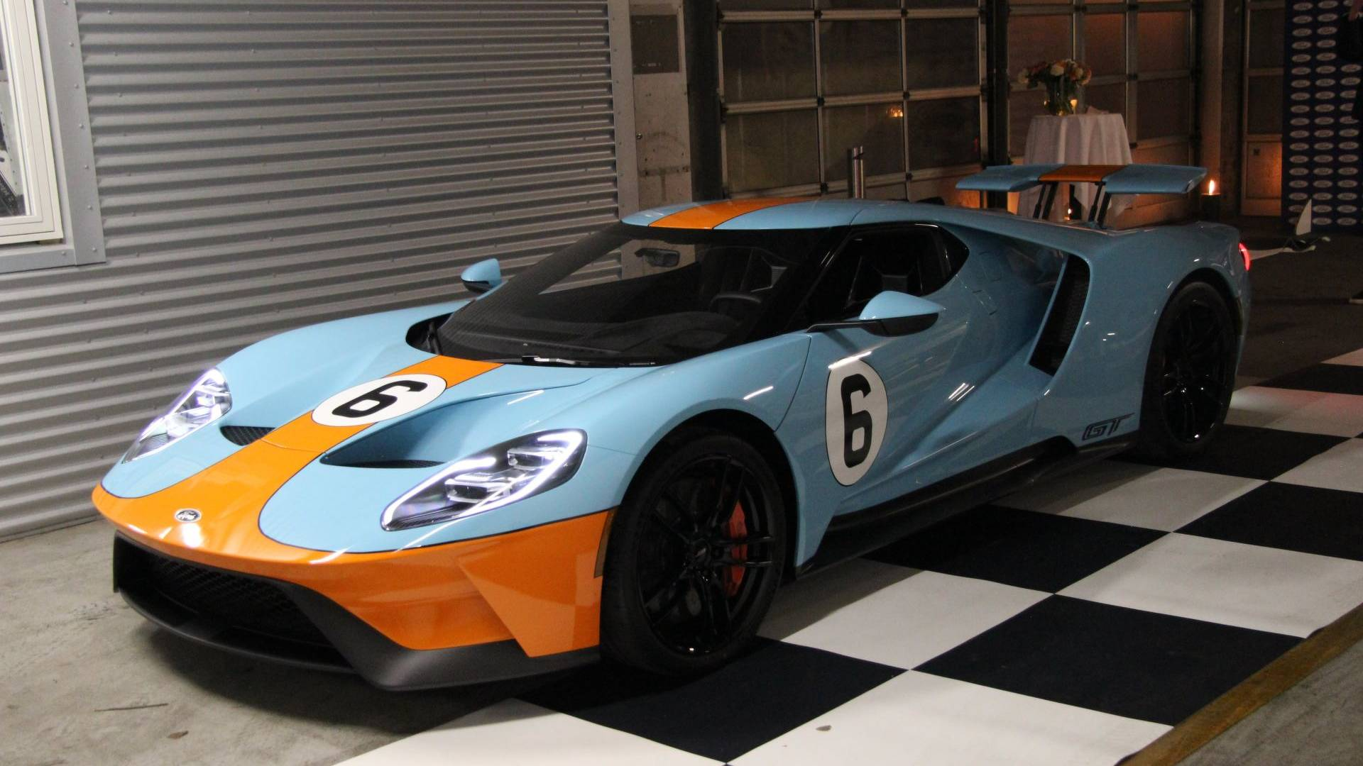 The ford gt is finally in the hands of european customers