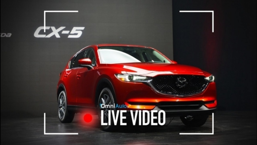 Nuova Mazda CX-5 vista dal vivo a Los Angeles [VIDEO]