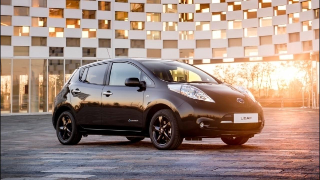 [Copertina] - Nissan Leaf Black Edition, il Wi-Fi è in omaggio