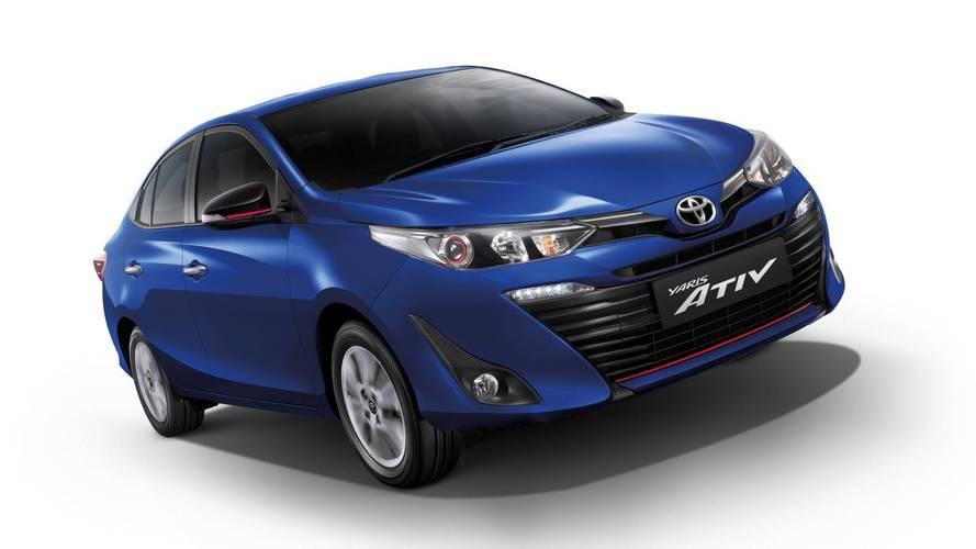 Em breve no Brasil, Toyota Yaris Sedan chega ao México por R$ 37.700