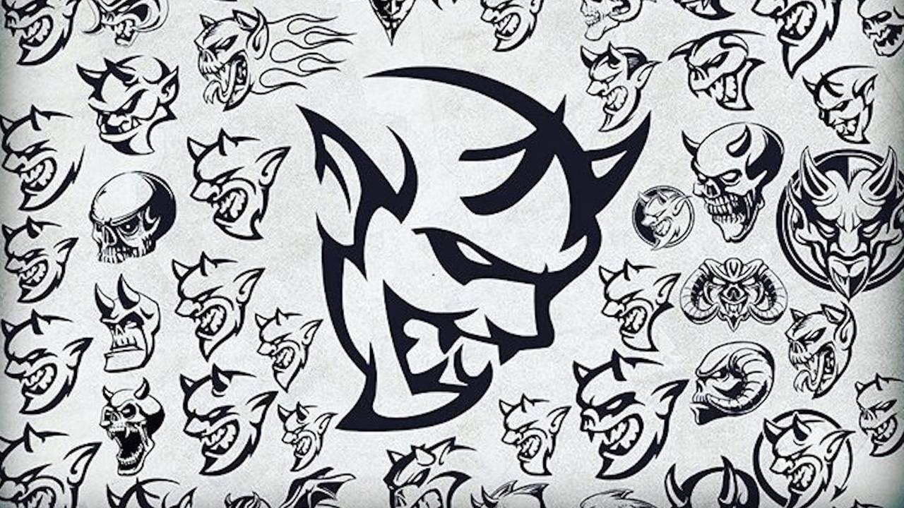 Dodge Demon Sketches
