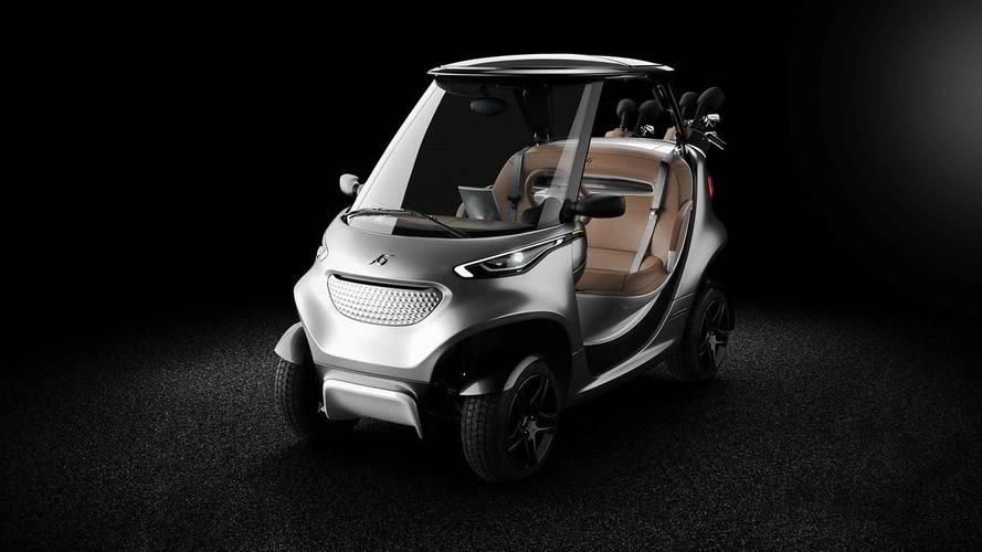 Garia Golf Car by Mansory