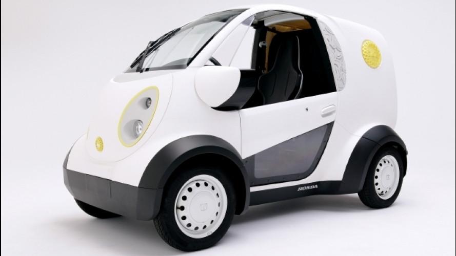 Honda Hato Sablé, il minivan creato con una stampante 3D