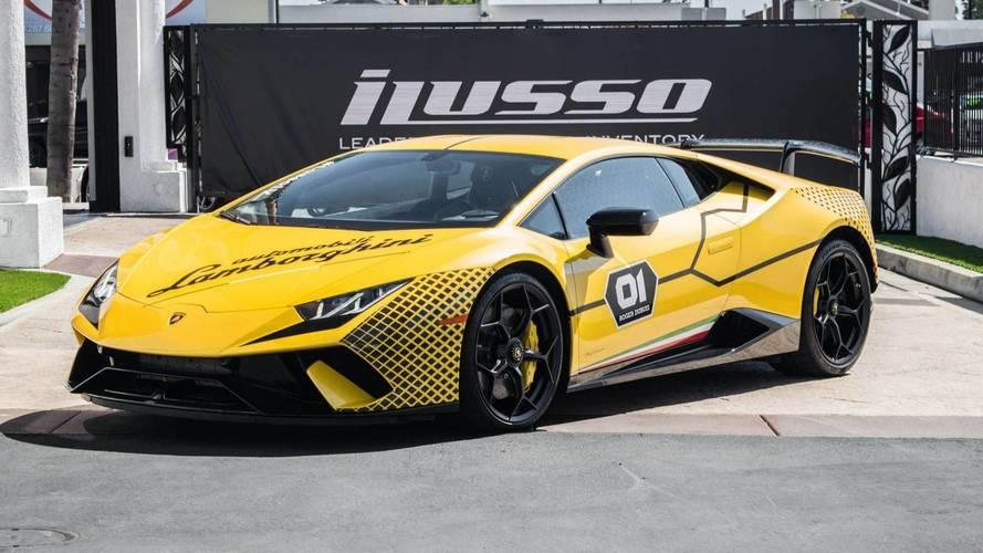 Máris eladóvá vált egy Lamborghini Huracan Performante
