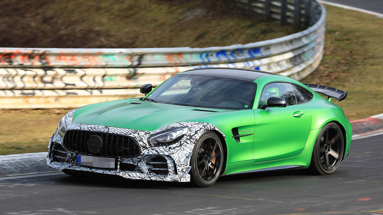 Mercedes-AMG GT R mit Modifikationen