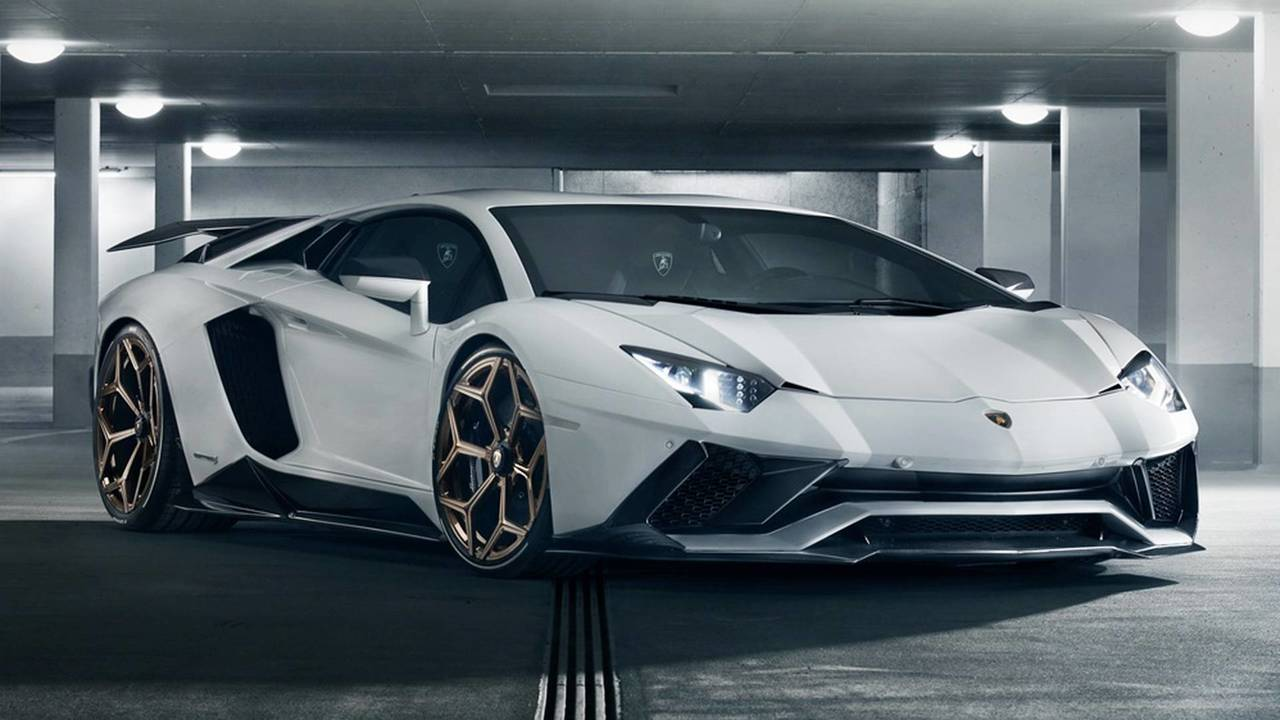 Lamborghini Aventador S by Novitec