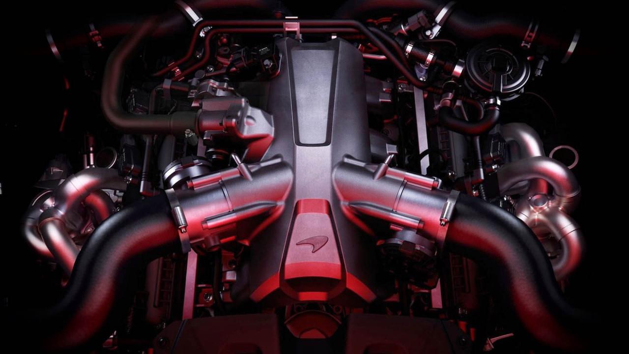 Achtzylinder: 4,0-Liter-V8 von McLaren