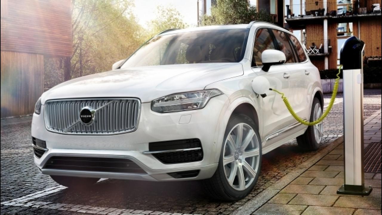 [Copertina] - Volvo, la prima elettrica arriva nel 2019