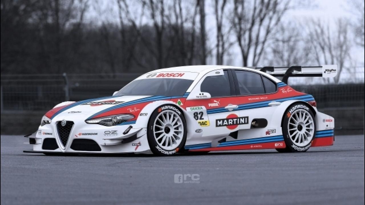 [Copertina] - Alfa Romeo Giulia, un sogno chiamato Martini Racing [VIDEO]