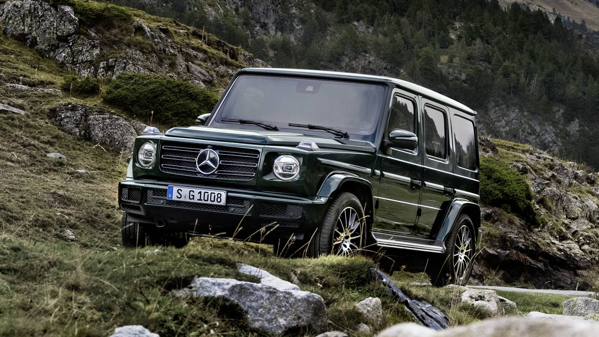 New G Class The Jewel Of The Mercedes Line Up Says Company