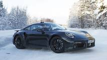 2020 Porsche 911 Turbo spy photo