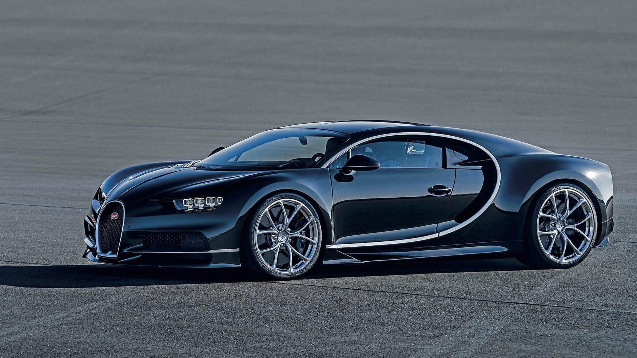 Bugatti Chiron: 420 km/h