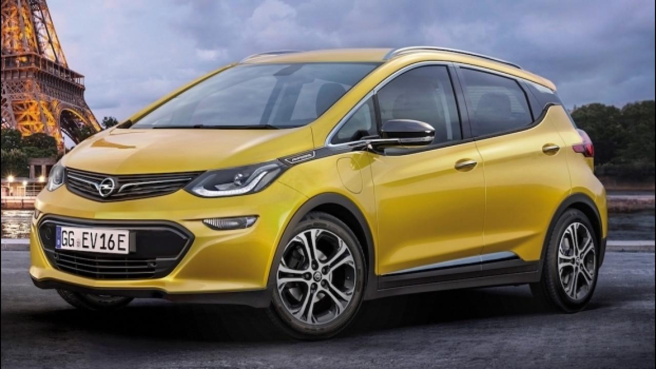 [Copertina] - Opel Ampera-e, la monovolume elettrica al Salone di Parigi