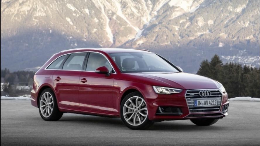 Audi nuovi motori e allestimenti per A4, Q7 e TT