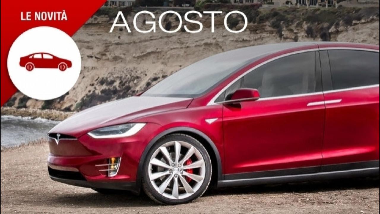 [Copertina] - Novità auto, ad agosto solo modelli