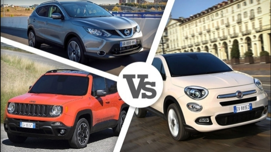 SUV e crossover, ecco i più venduti in Italia