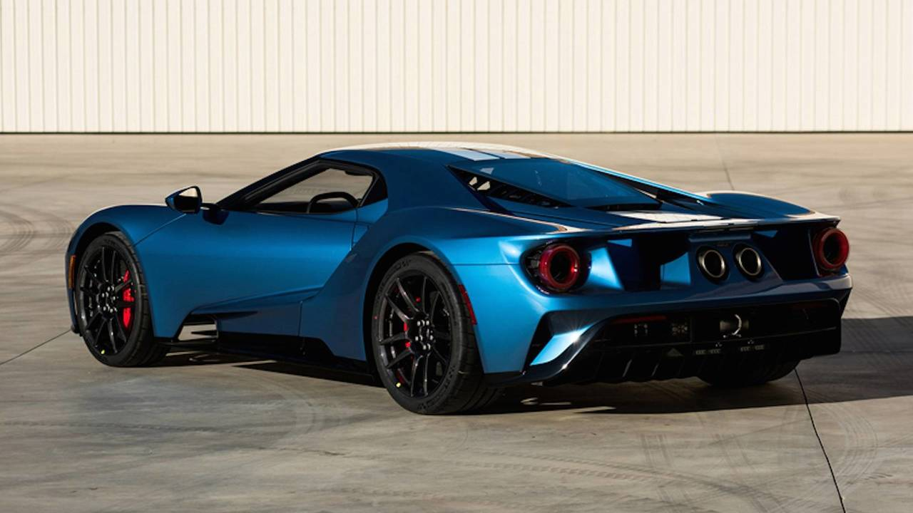 8. 2017 Ford GT Coupe: $2,500,000