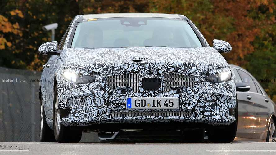 New Mercedes-Benz C-Class Spy Photos