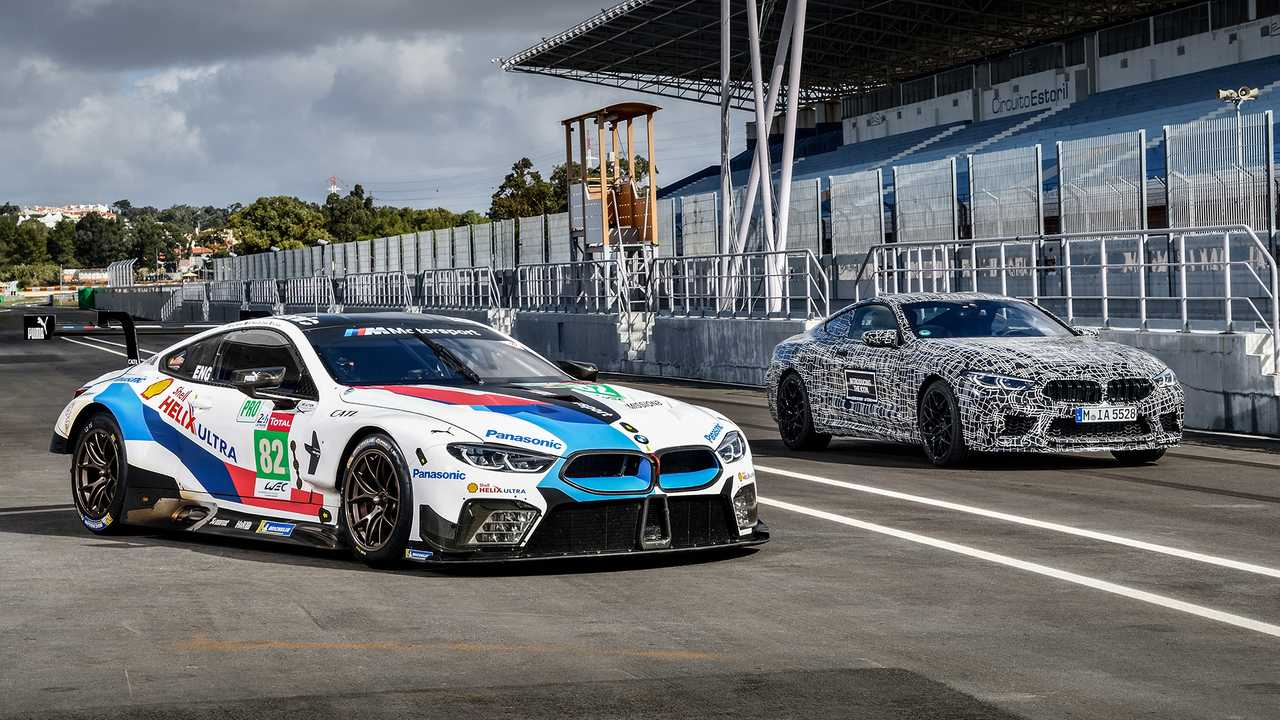 Ford Gt Inside >> Hop Onboard The BMW M8 and M8 GTE For Hot Laps At Estoril