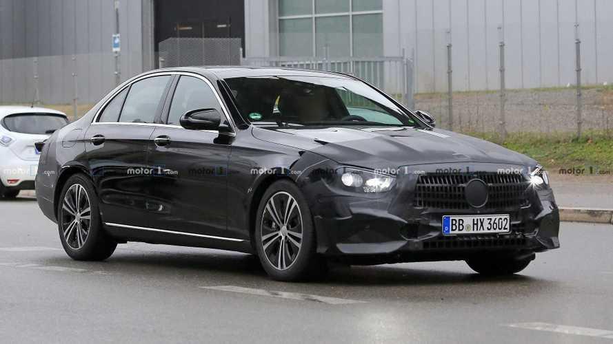Mercedes E-Klasse Limousine Facelift (2020) erstmals erwischt