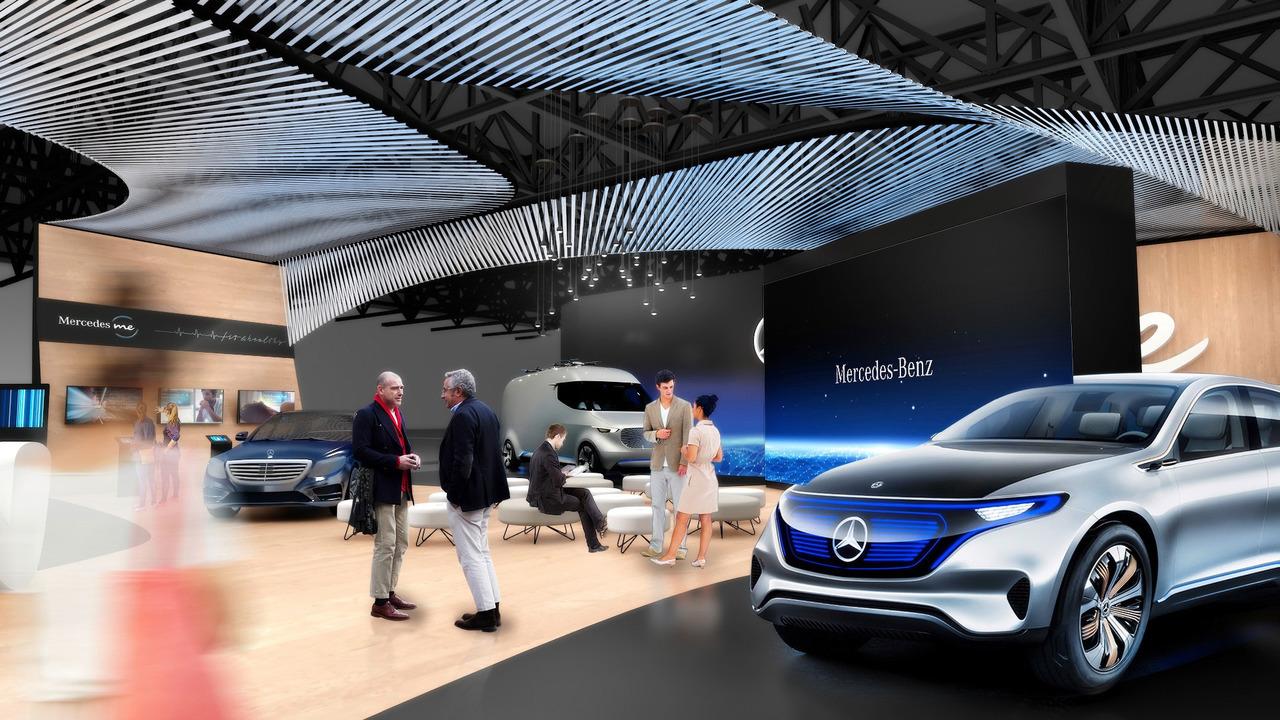 CES 2017'de Mercedes