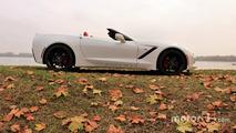 Corvette Stingray Profil droit cabrio