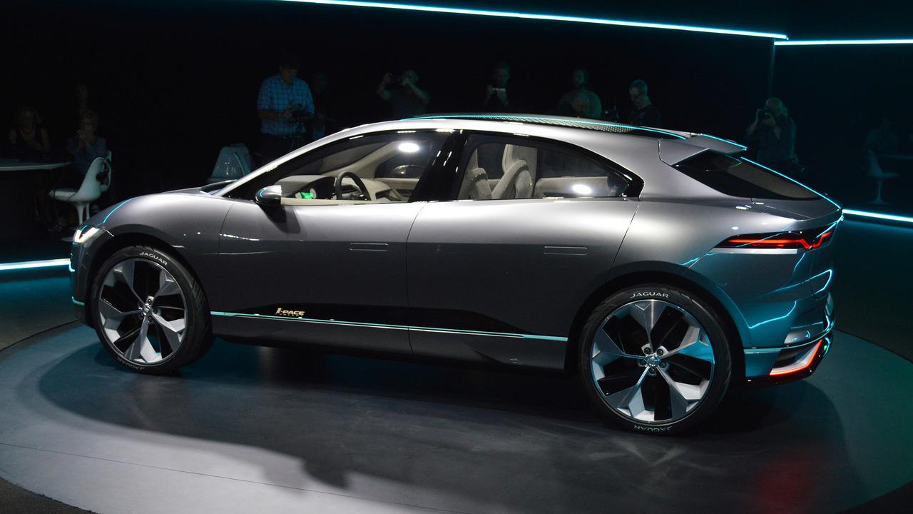 Jaguar I-Pace Concept: salón de Los Ángeles 2016