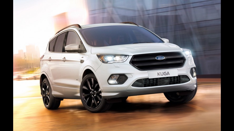 Inspiração para o EcoSport 2017, Ford Kuga ganha pacote esportivo ST Line