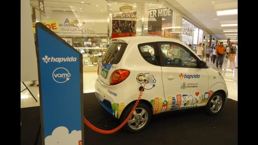 Carro elétrico compartilhado estará nas ruas de Fortaleza (CE) em setembro