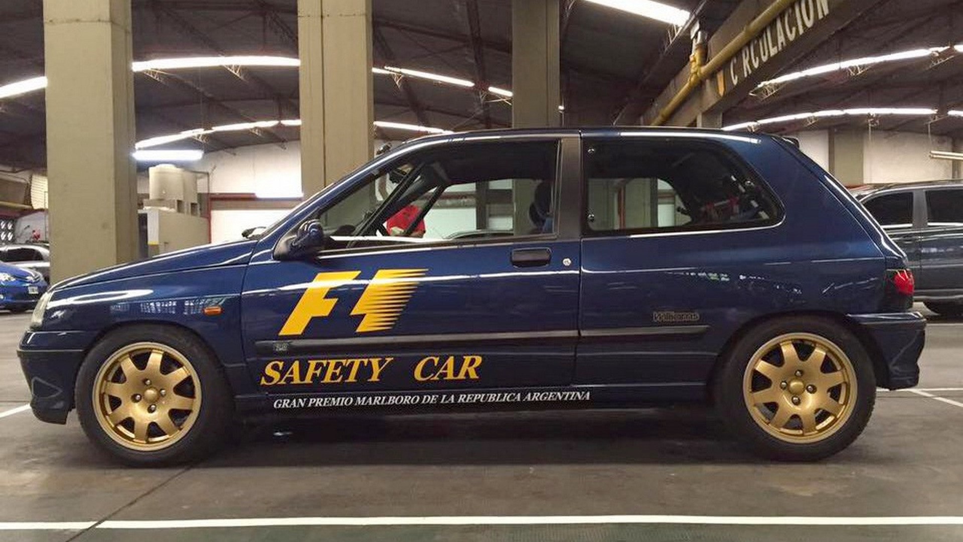 Renault Clio Williams, Safety Car Da F1 Argentina, Está à