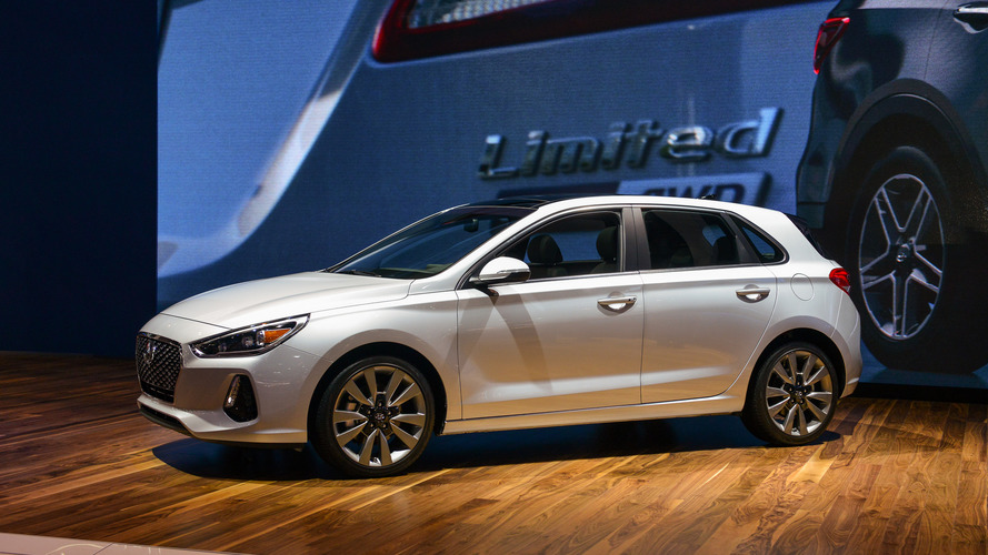 2018 Hyundai Elantra GT is a practical, stylish compact hatchback
