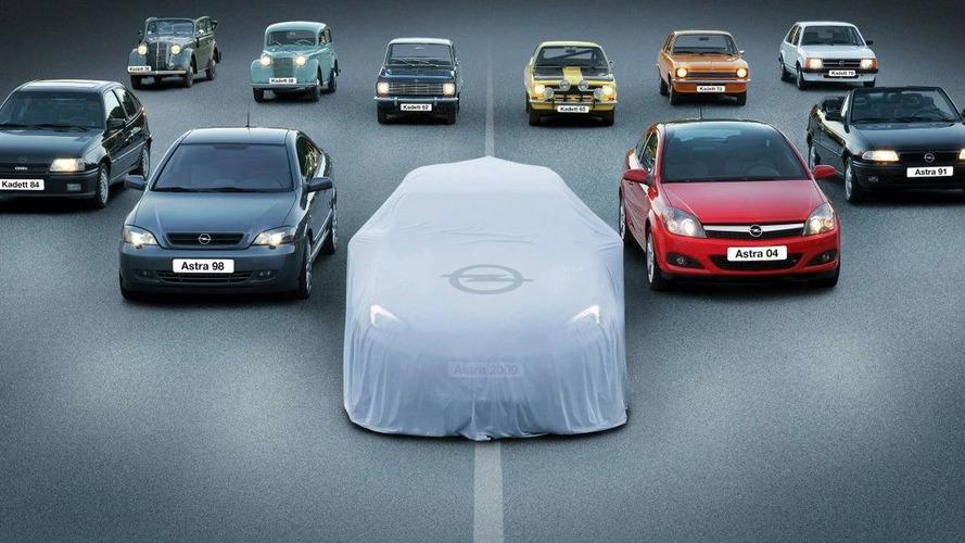 Opel Astra Teaser