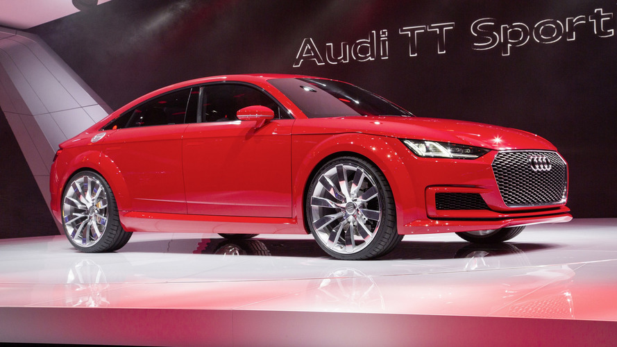 Next-Generation Audi TT Rumored To Be Four-Door Coupe