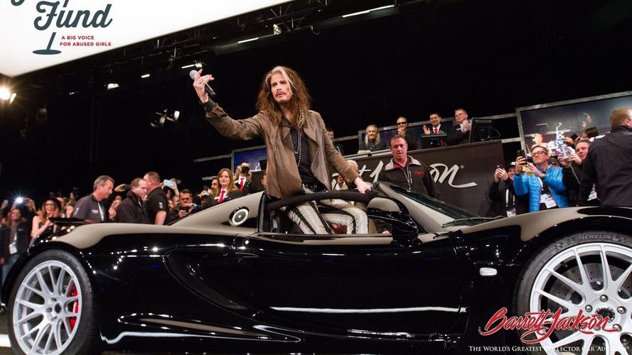 Steven Tyler'ın 1,200 bg'lik Hennessey Venom'u satıldı