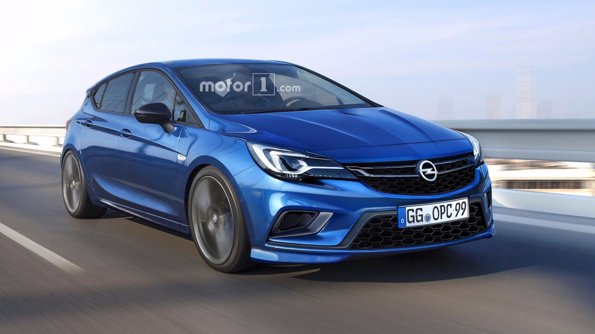 Opel Astra Opc Coming Later This Year Here S How It Might Look