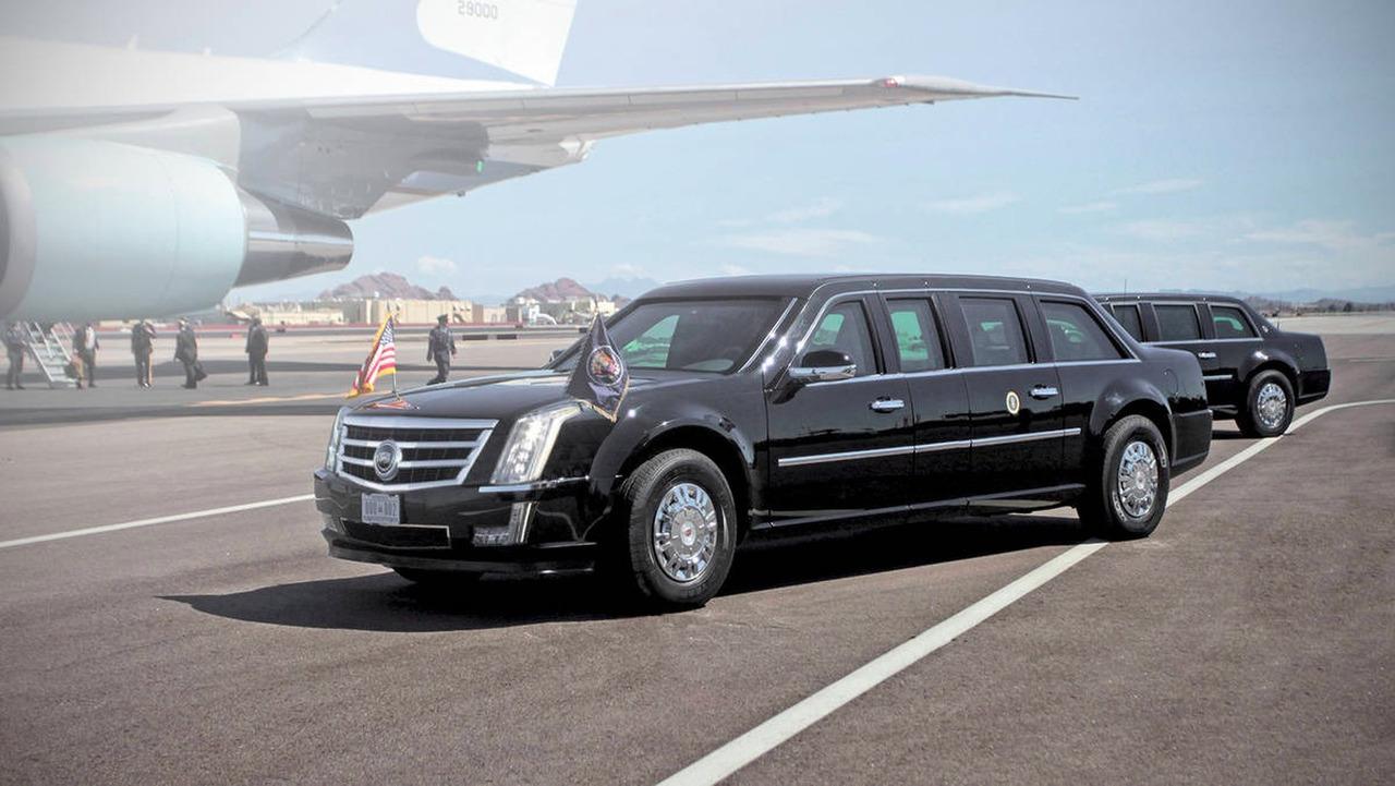 Donald Trump Limousine
