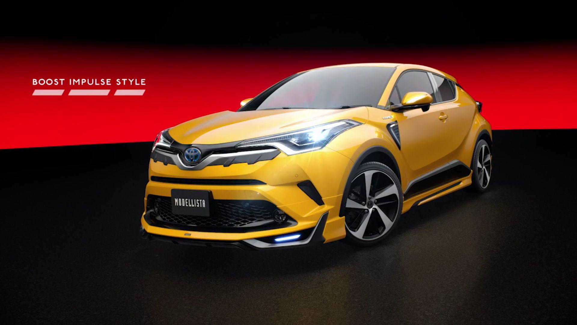 Eye-searing Toyota C-HR Modellista body kits ready for Japan