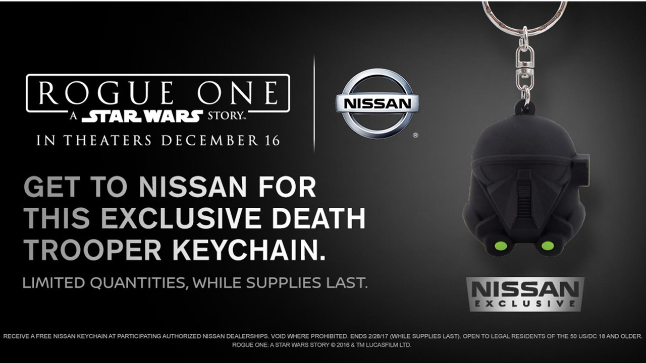 Nissan Star Wars Keychain