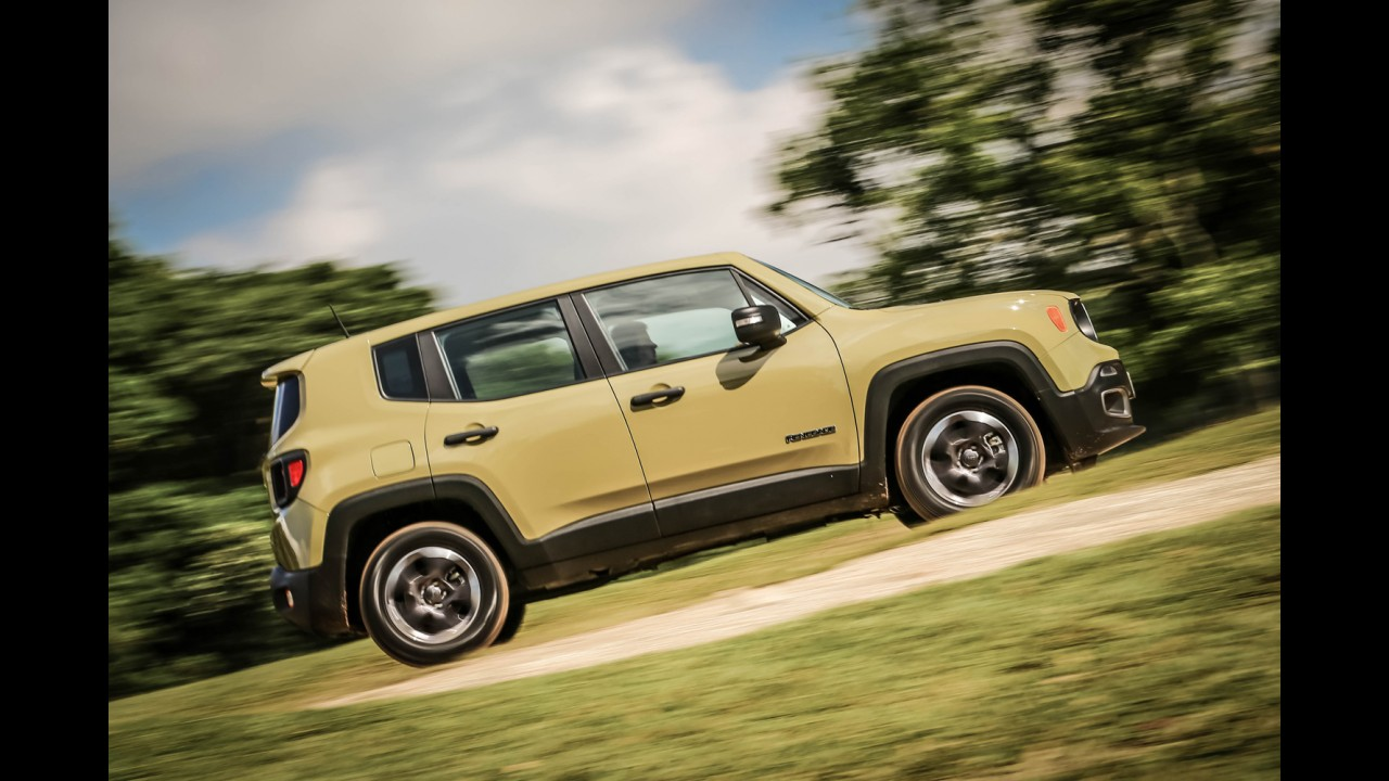 Teste CARPLACE: Jeep Renegade 1.8 manual anda na balada do EcoSport 1.6