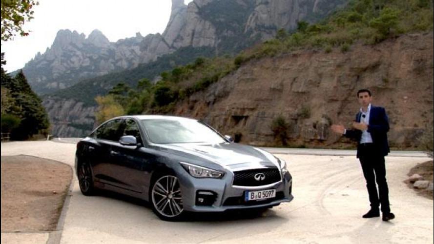 Infiniti Q50 2.2 diesel Sport, la nostra prova [VIDEO]
