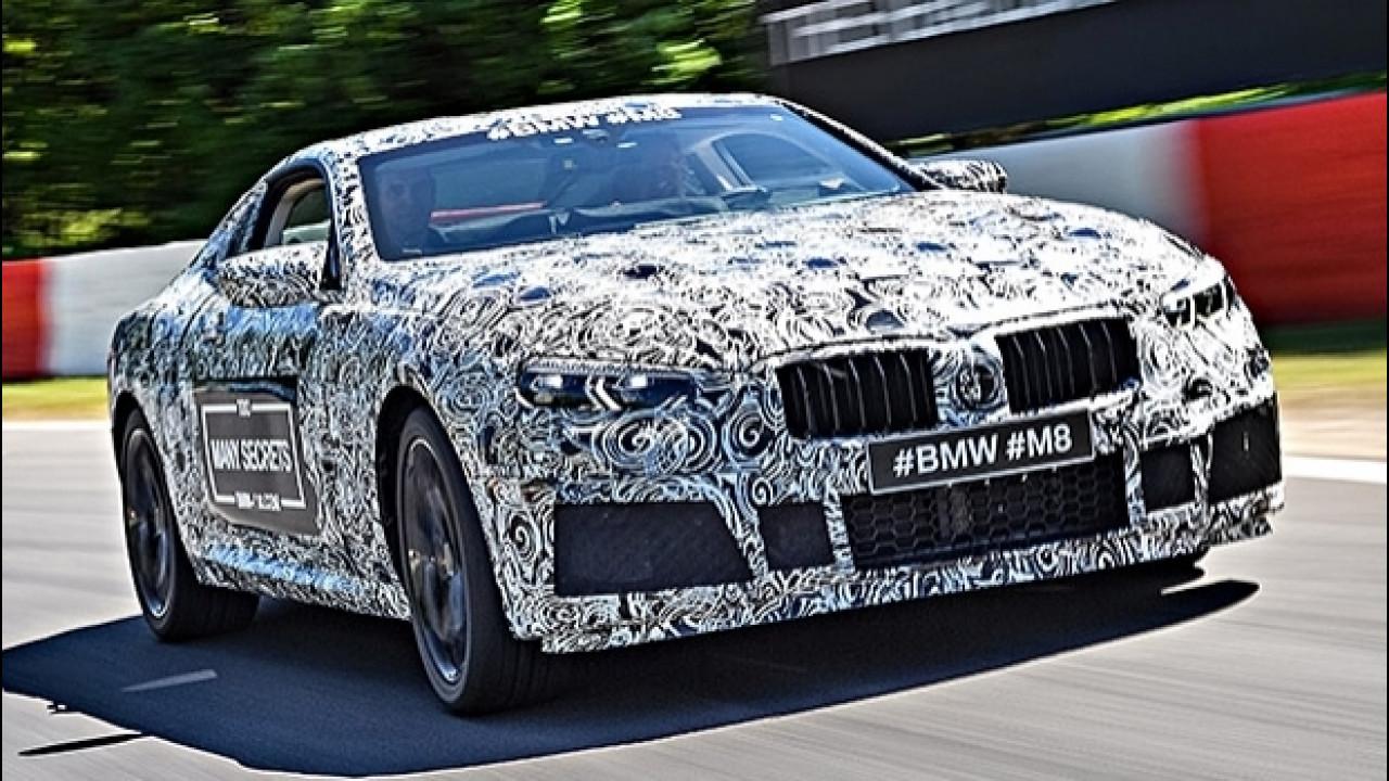 [Copertina] - BMW M8, la super coupé è pronta
