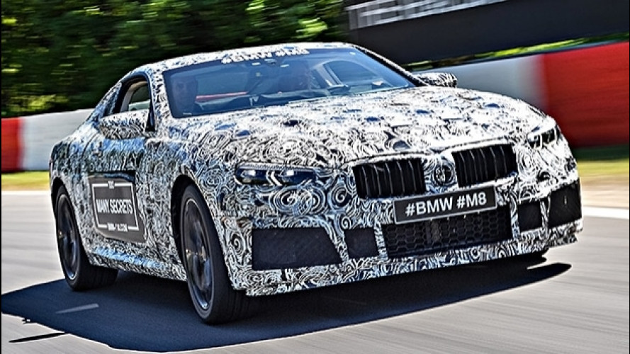 BMW M8, la super coupé è pronta