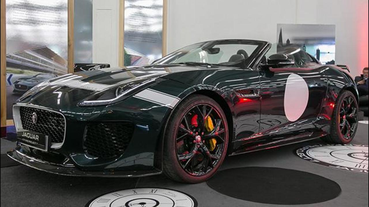 [Copertina] - Jaguar F-Type Project 7, una rarità a Padova [VIDEO]