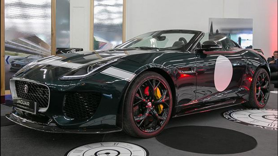 Jaguar F-Type Project 7, una rarità a Padova [VIDEO]