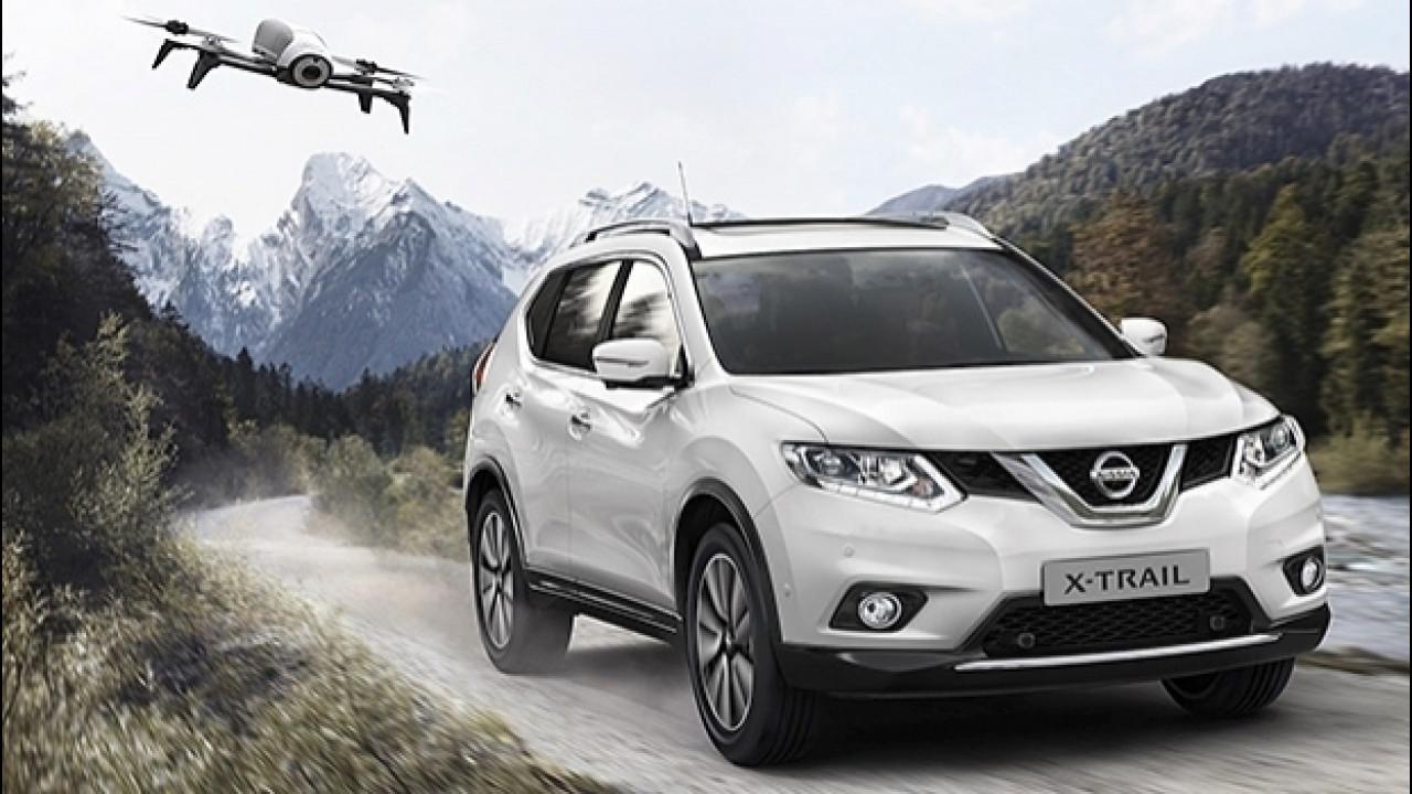 [Copertina] - Nissan X-Trail X-Scape, la prima auto con il drone di serie