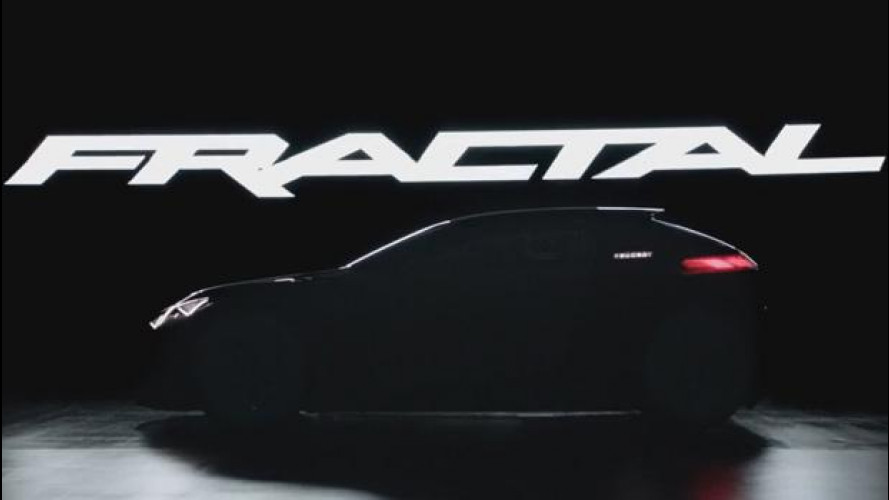 Peugeot Fractal, tris di teaser [VIDEO]